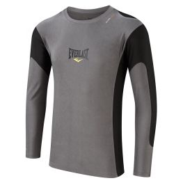 Everlast Long Gray rushguard