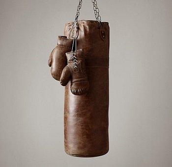 Retró bőr boxzsák bérlés