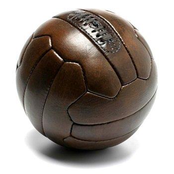 Retró bőr focilabda bérlés