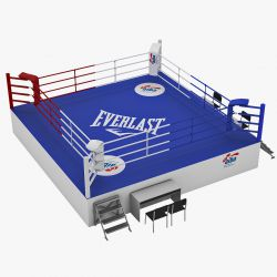 A boxring méretei
