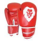 Predator piros boxkesztyű