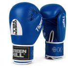 Green Hill Tiger aiba verseny boxkesztyű, kék