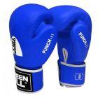 Green Hill Punch II kék bőr boxkesztyű